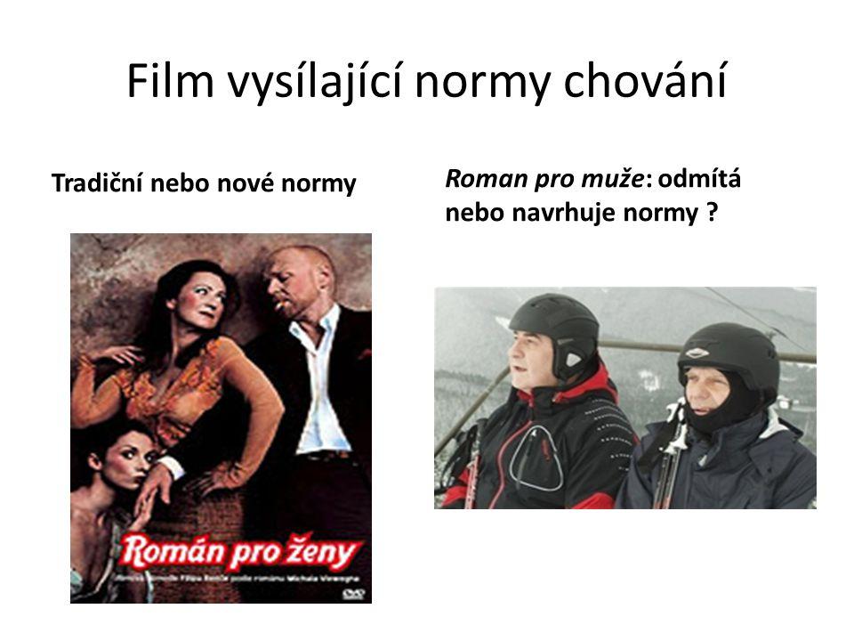 Film vysílající normy chování