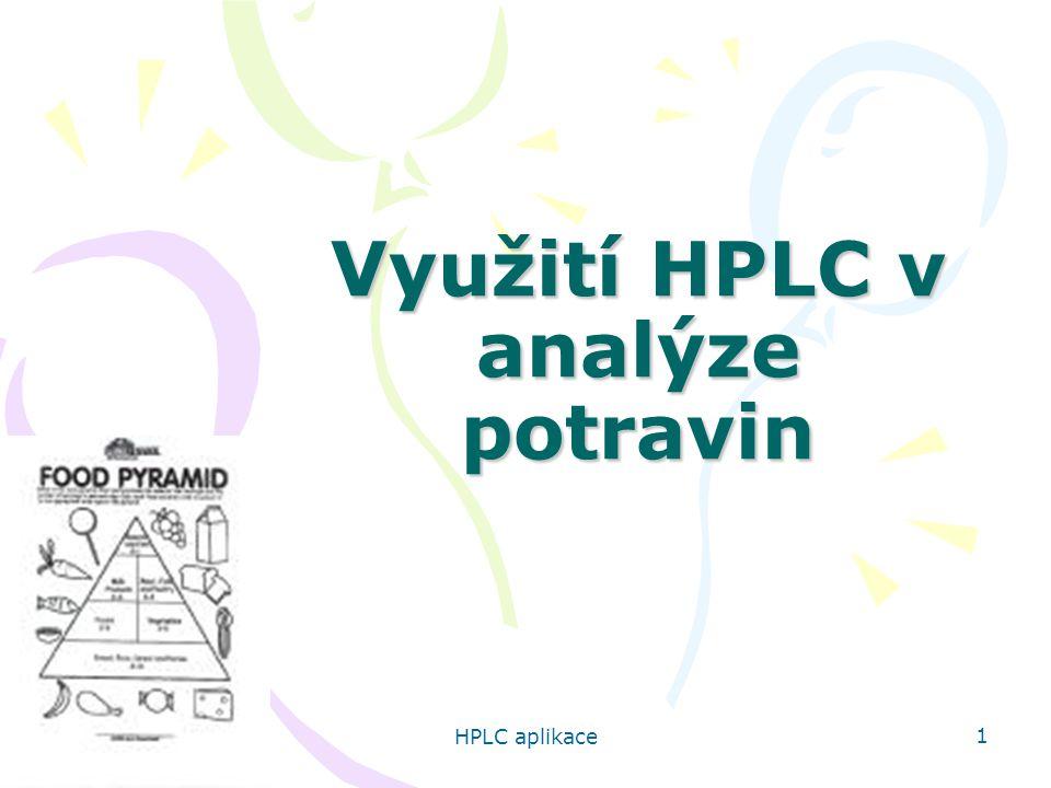 Využití HPLC v analýze potravin