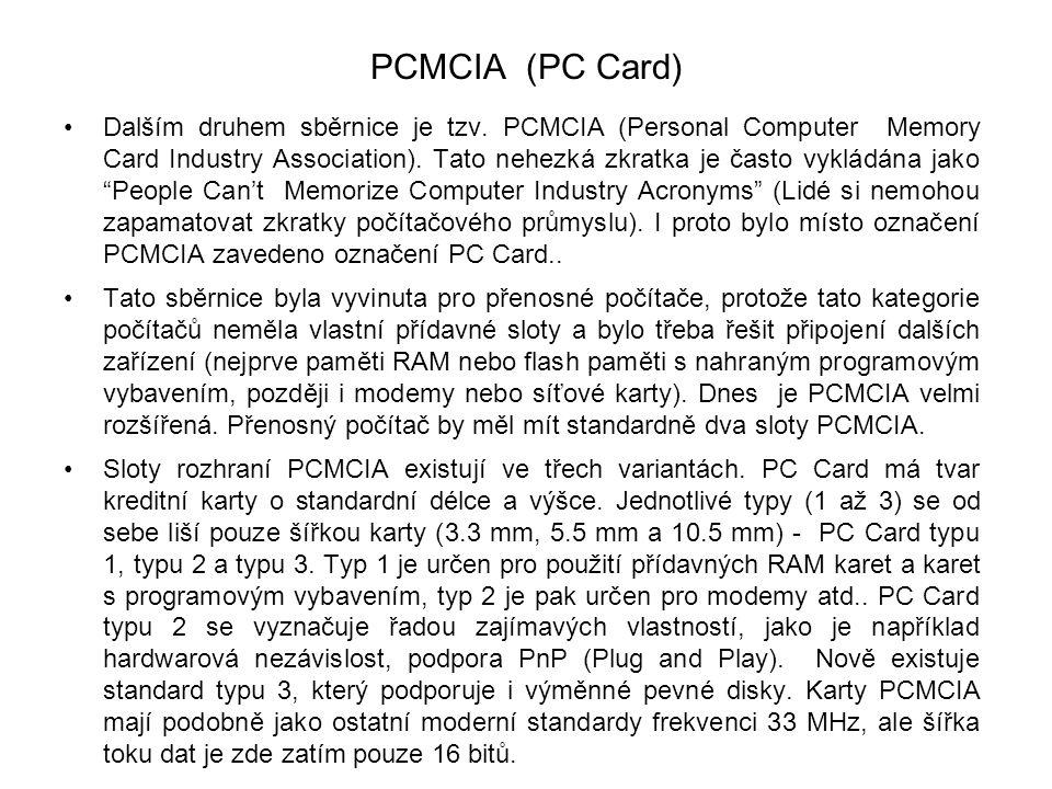 PCMCIA (PC Card)