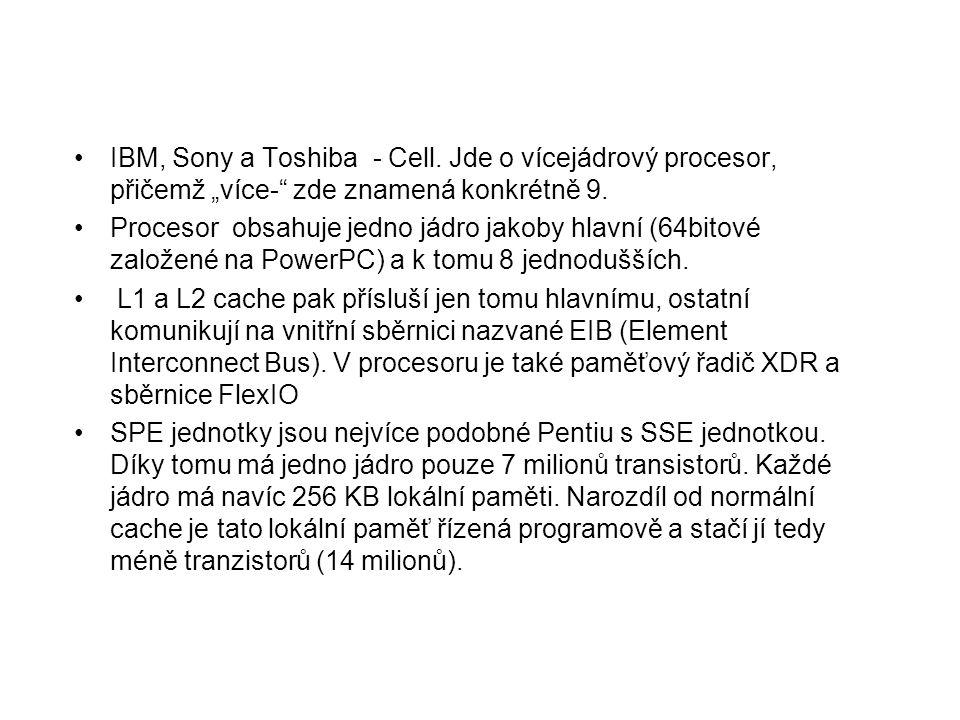 IBM, Sony a Toshiba - Cell