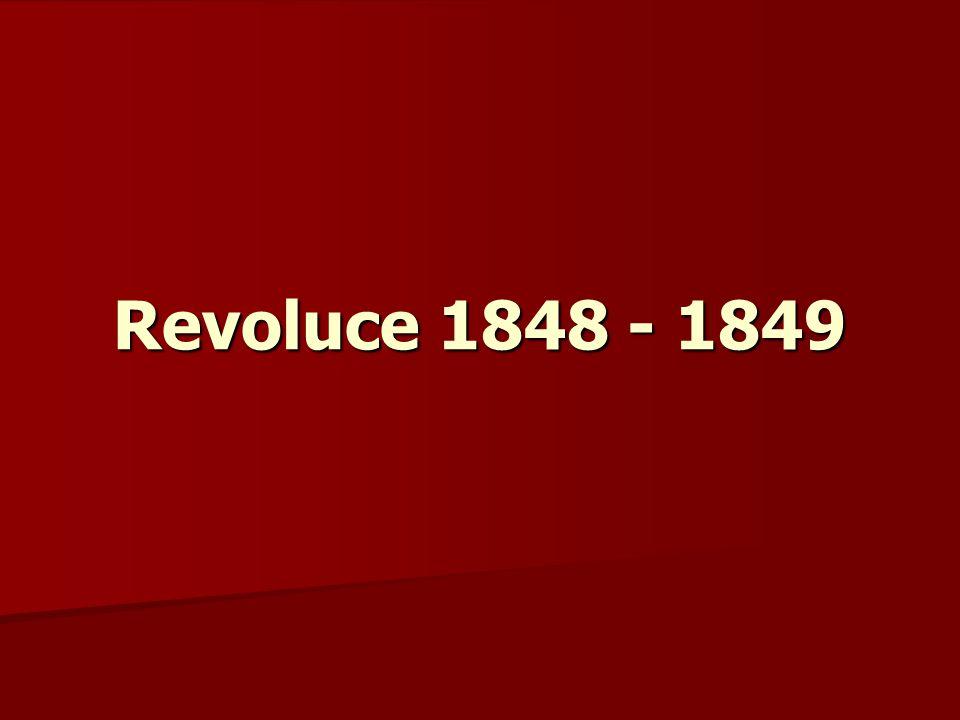 Revoluce 1848 - 1849