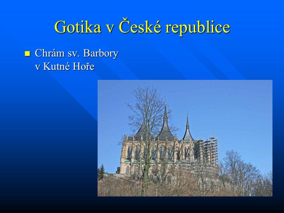 Gotika v České republice