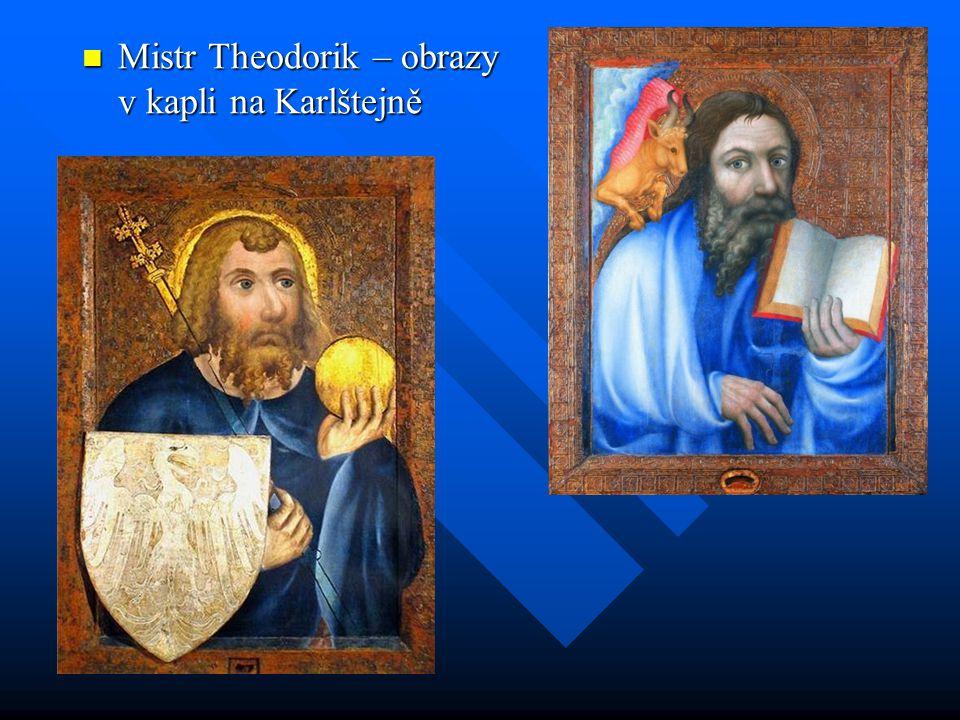 Mistr Theodorik – obrazy v kapli na Karlštejně