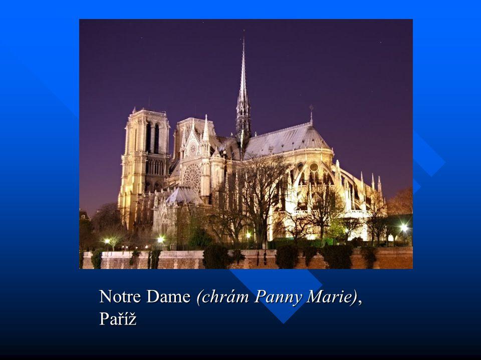 Notre Dame (chrám Panny Marie), Paříž