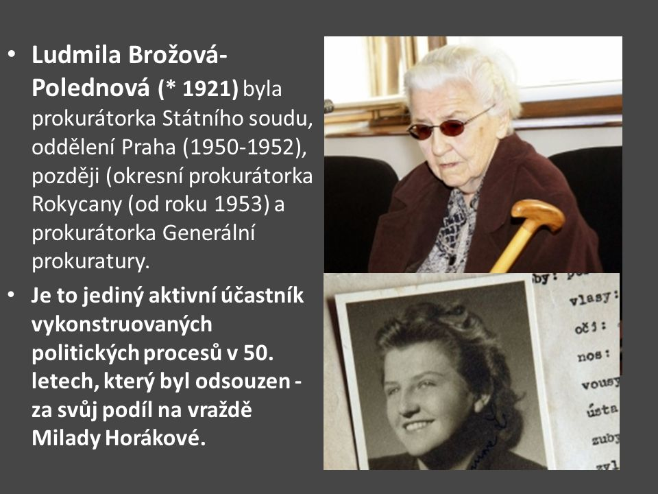 Ludmila Brožová-Polednová (