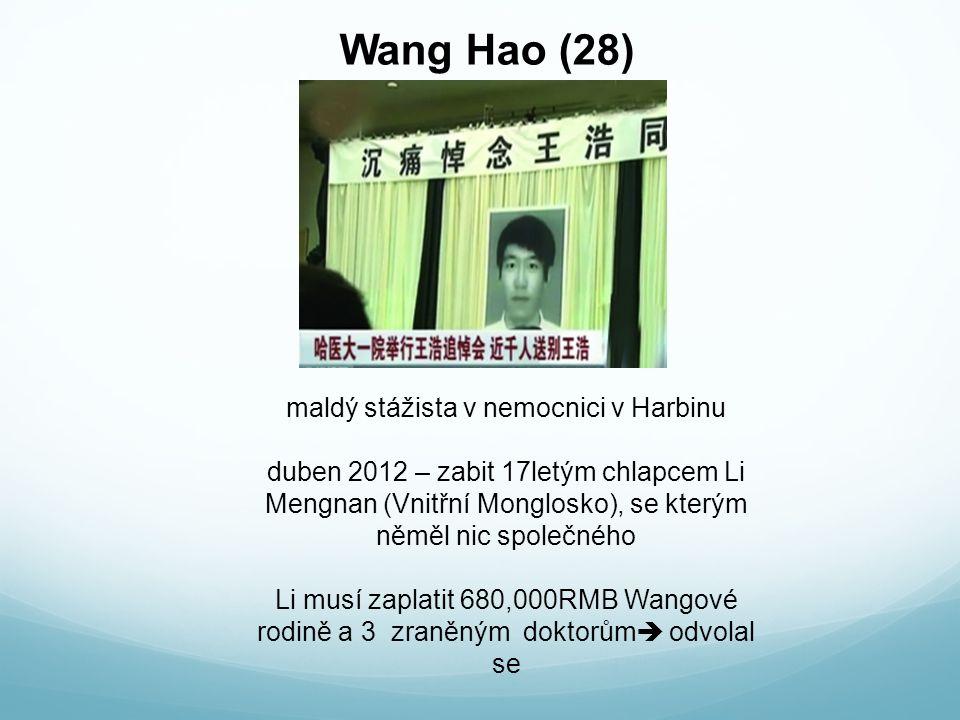 maldý stážista v nemocnici v Harbinu