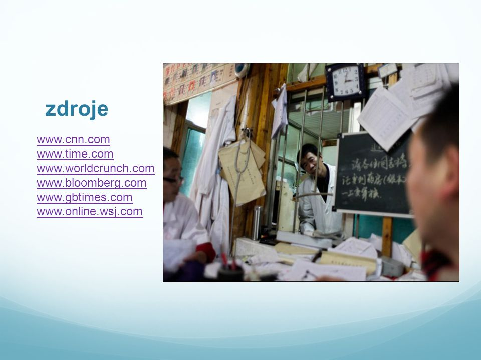 zdroje www.cnn.com www.time.com www.worldcrunch.com www.bloomberg.com