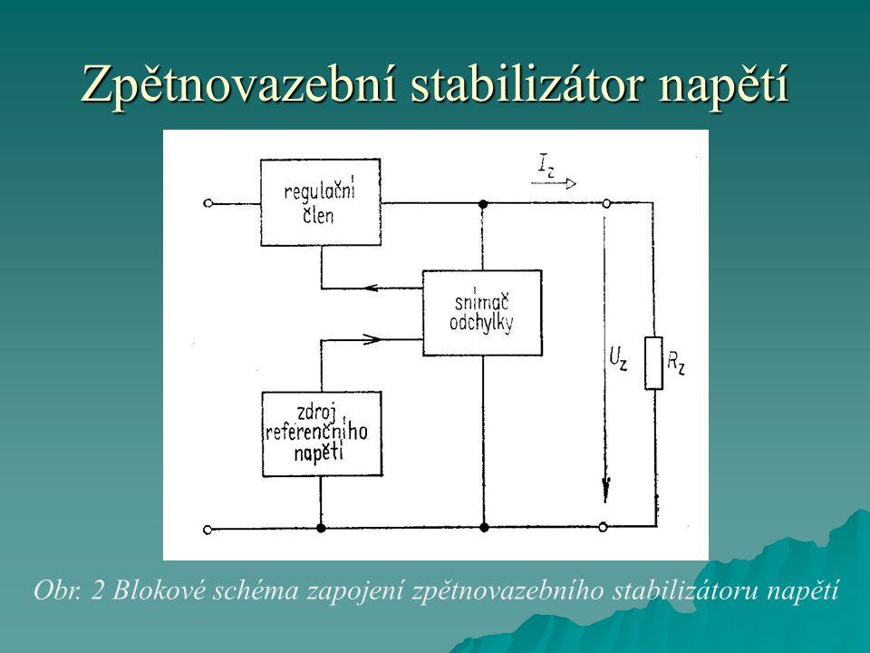 Zpětnovazební stabilizátor napětí