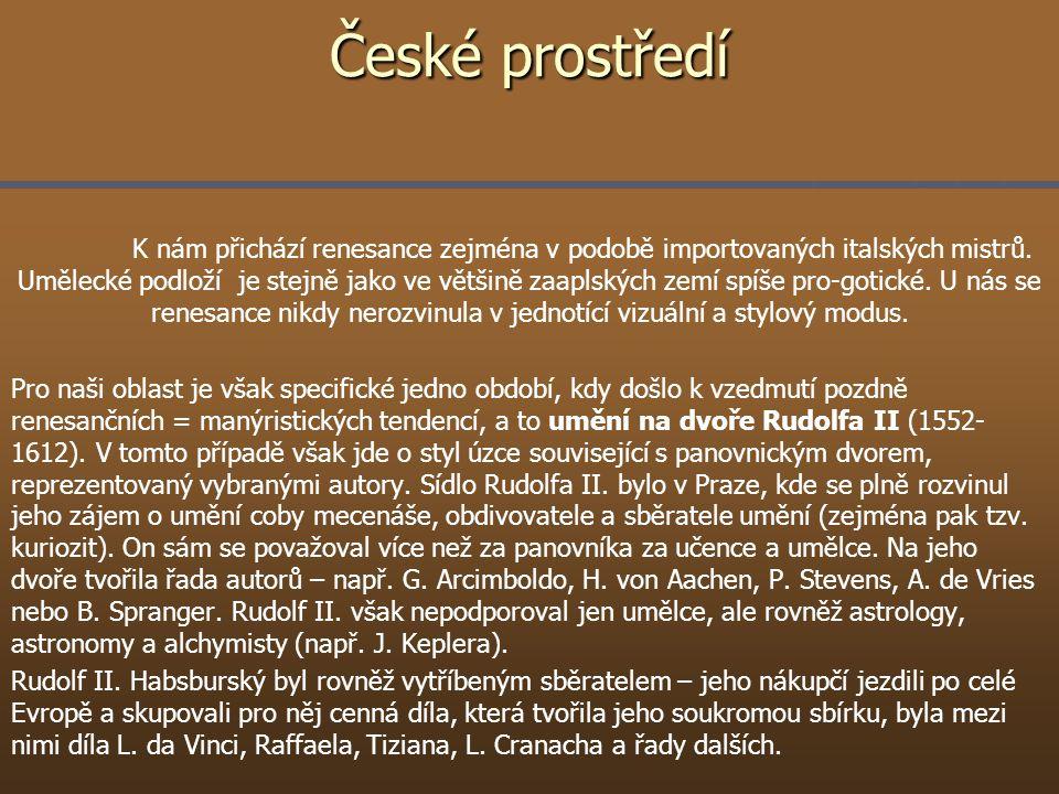 České prostředí