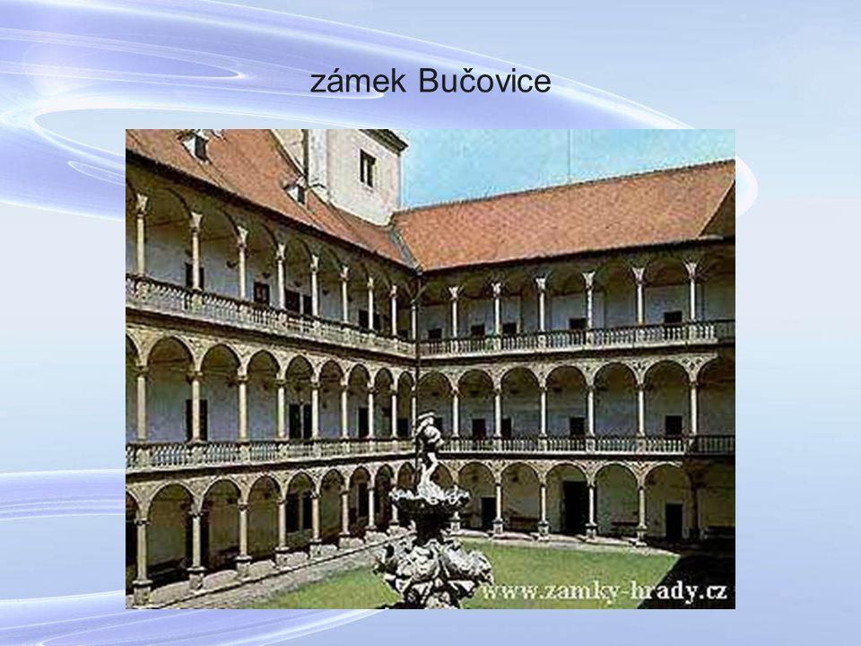 zámek Bučovice
