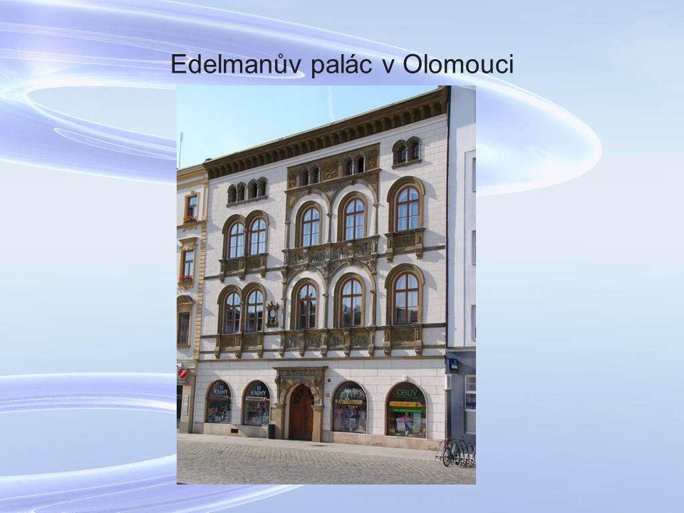Edelmanův palác v Olomouci