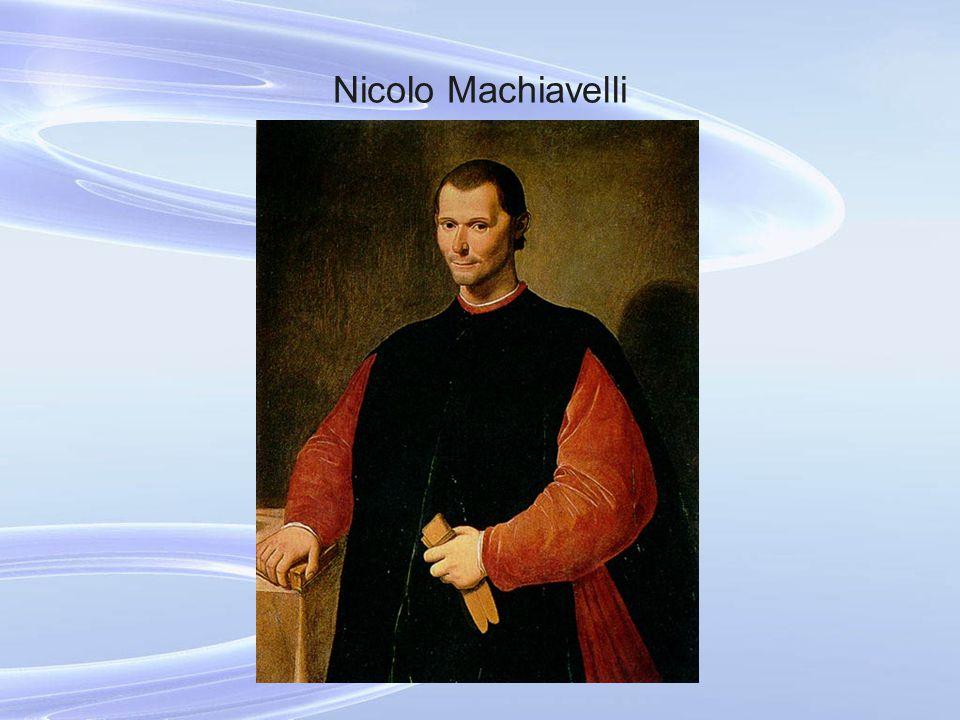 Nicolo Machiavelli