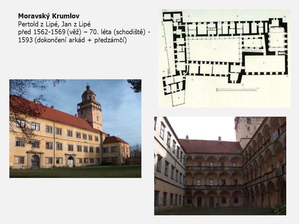 Moravský Krumlov Pertold z Lipé, Jan z Lipé před 1562-1569 (věž) – 70