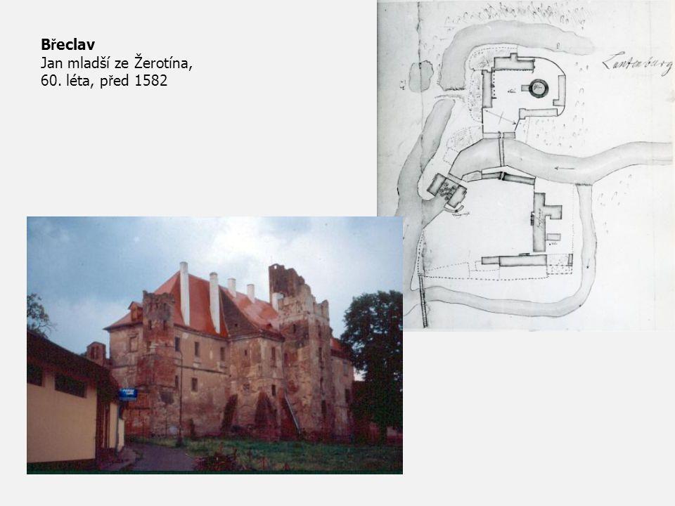 Břeclav Jan mladší ze Žerotína, 60. léta, před 1582