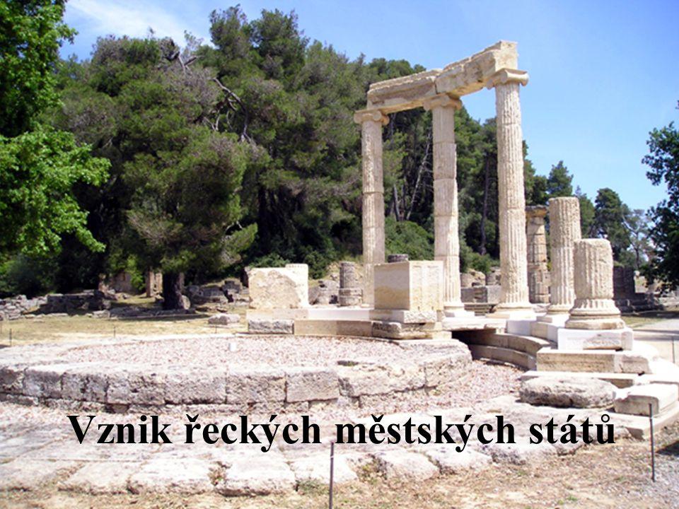 Vznik řeckých městských států