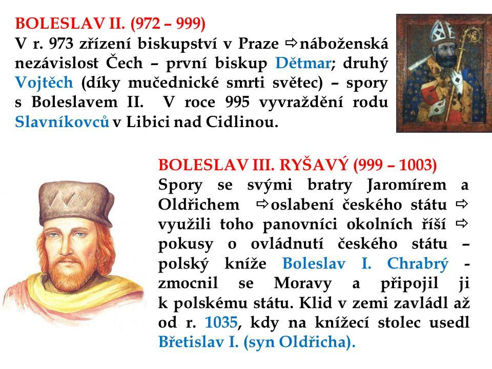 BOLESLAV II. (972 – 999)