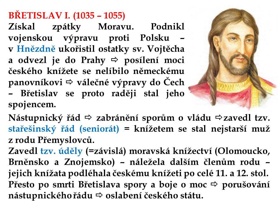 BŘETISLAV I. (1035 – 1055)