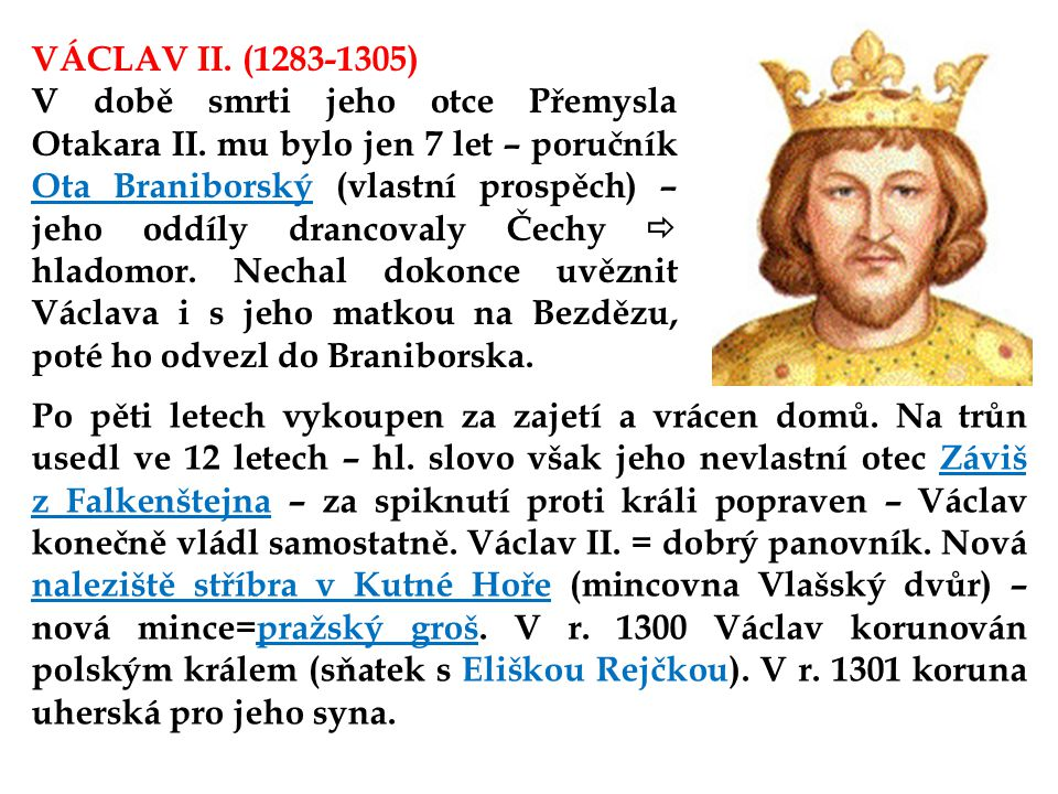 VÁCLAV II. (1283-1305)