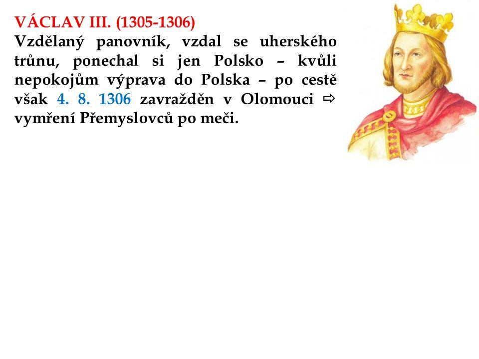 VÁCLAV III. (1305-1306)