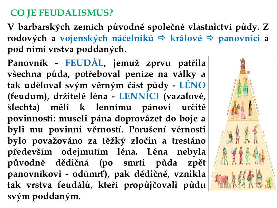 CO JE FEUDALISMUS