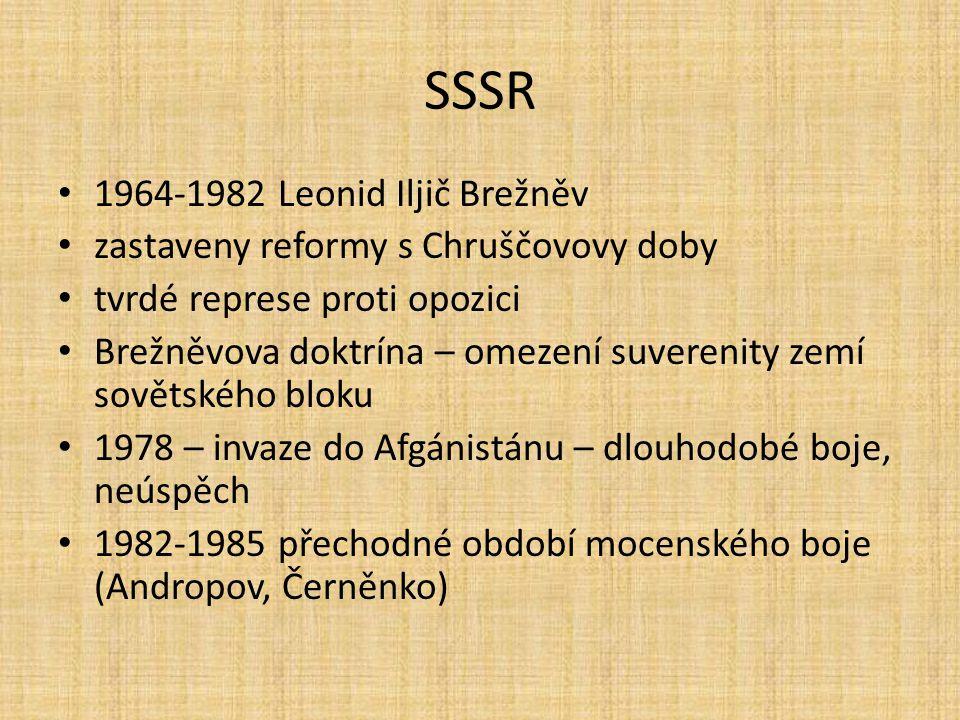 SSSR 1964-1982 Leonid Iljič Brežněv