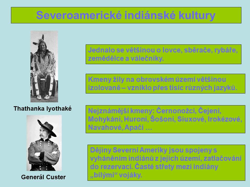 Severoamerické indiánské kultury