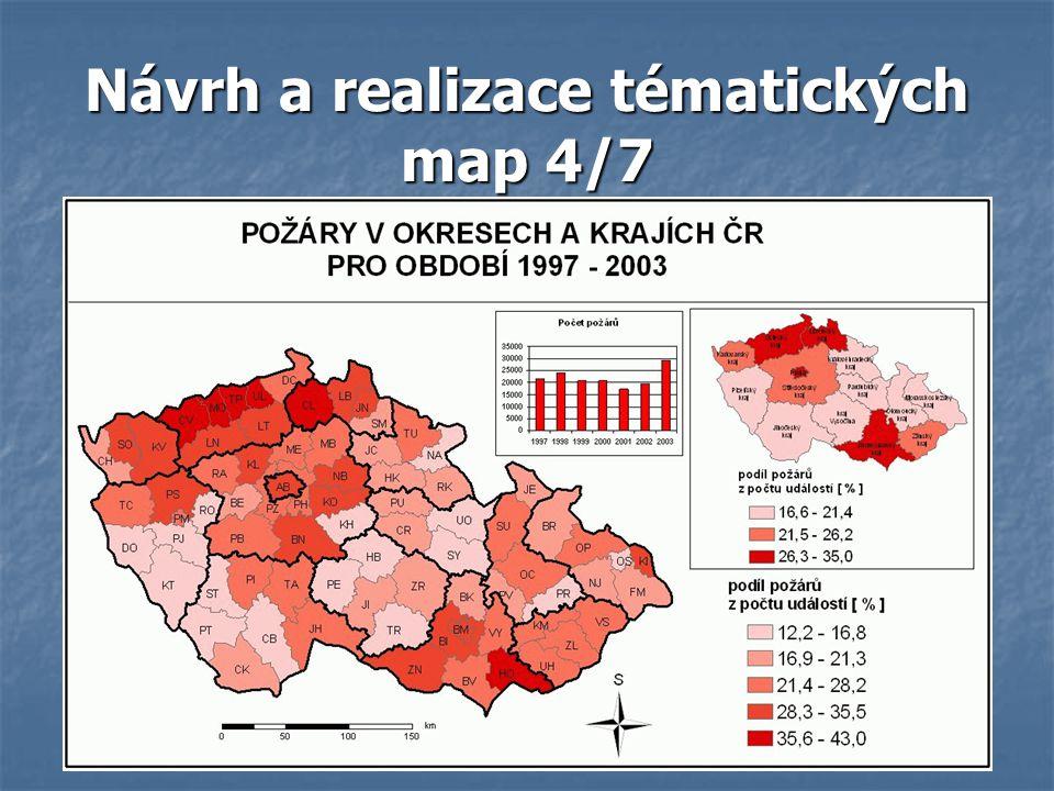Návrh a realizace tématických map 4/7