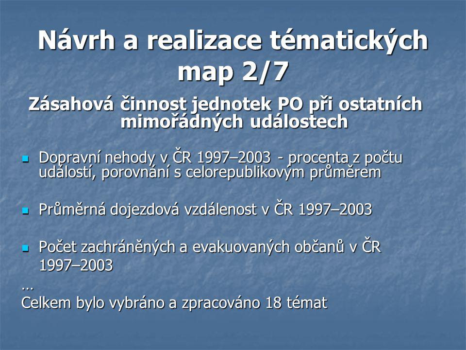 Návrh a realizace tématických map 2/7