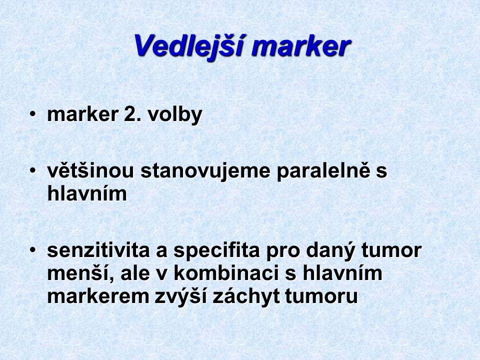 Vedlejší marker marker 2. volby