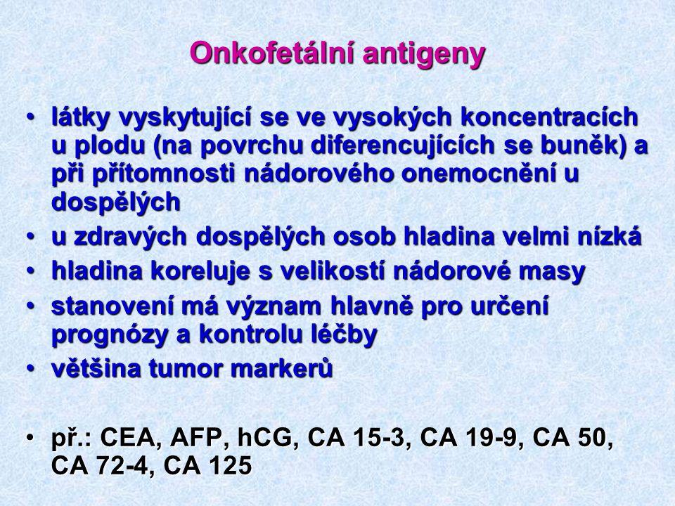 Onkofetální antigeny