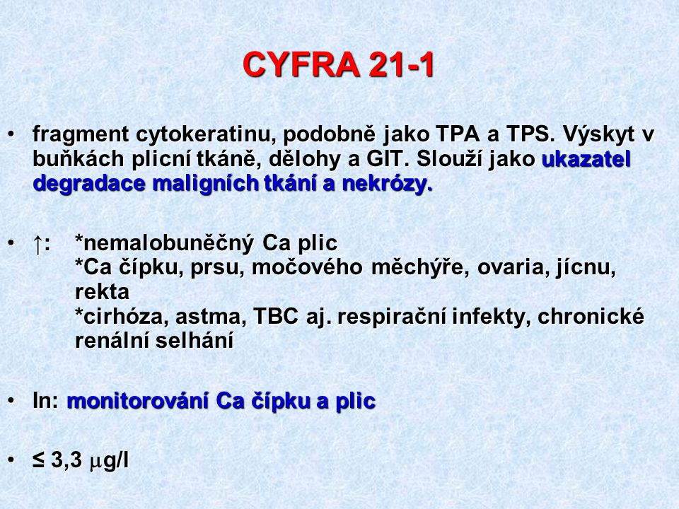 CYFRA 21-1
