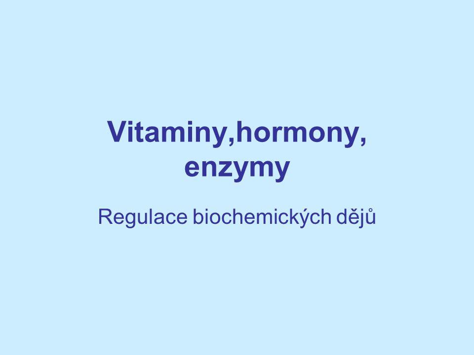 Vitaminy,hormony, enzymy