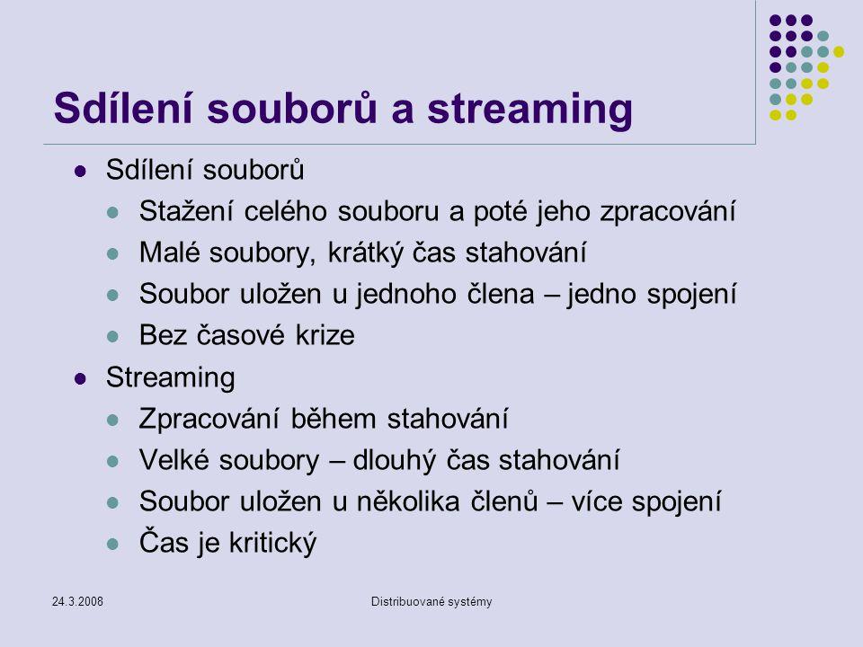 Sdílení souborů a streaming