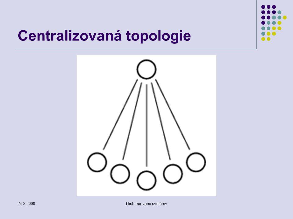 Centralizovaná topologie