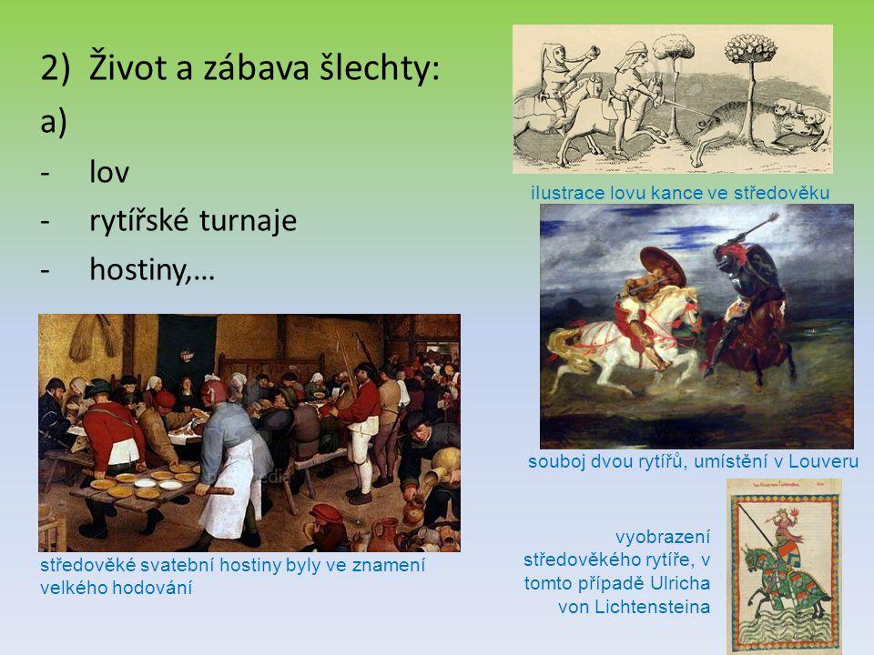 iIustrace lovu kance ve středověku