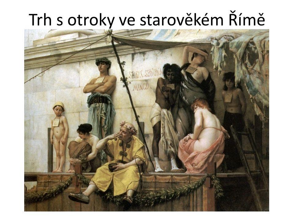 Trh s otroky ve starověkém Římě