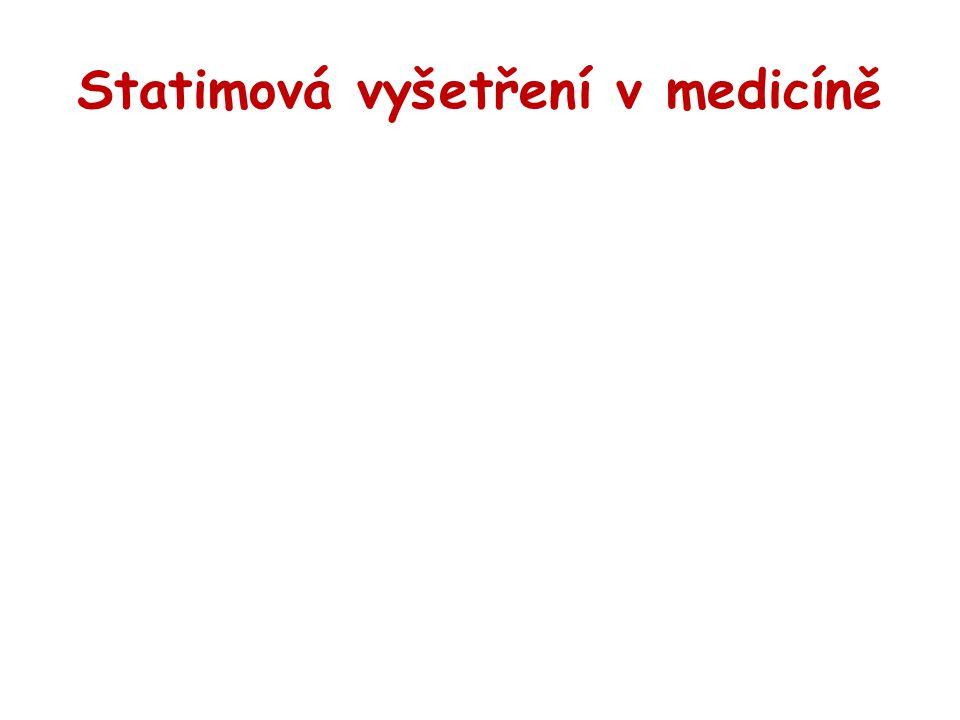 Statimová vyšetření v medicíně