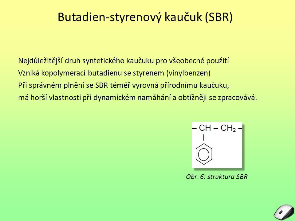 Butadien-styrenový kaučuk (SBR)