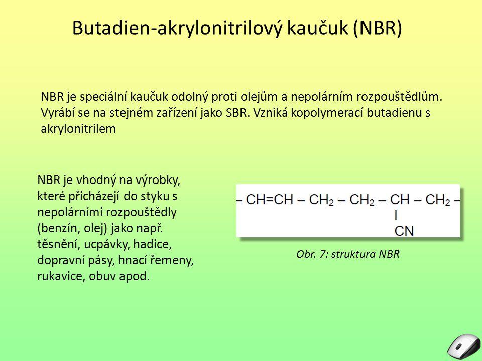 Butadien-akrylonitrilový kaučuk (NBR)