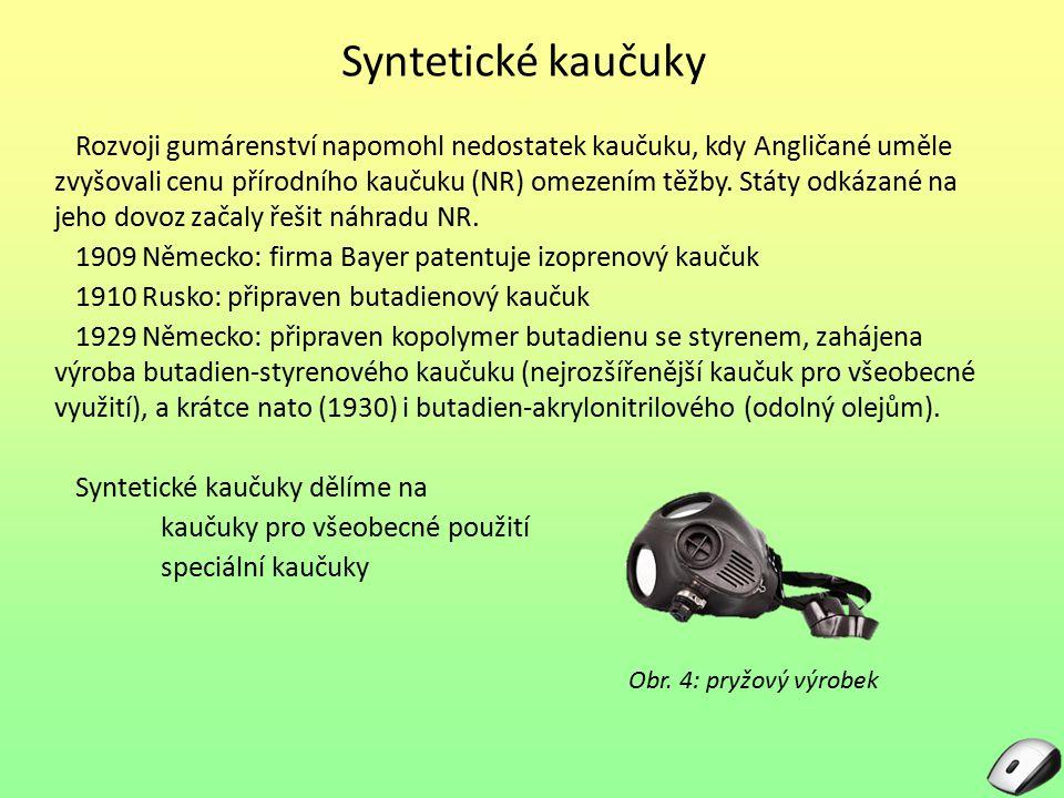 Syntetické kaučuky