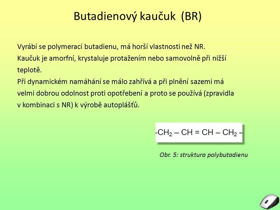 Butadienový kaučuk (BR)
