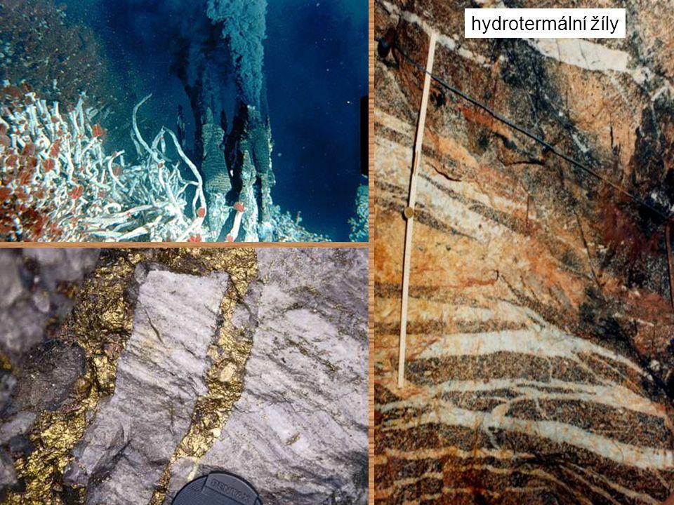 hydrotermální žíly