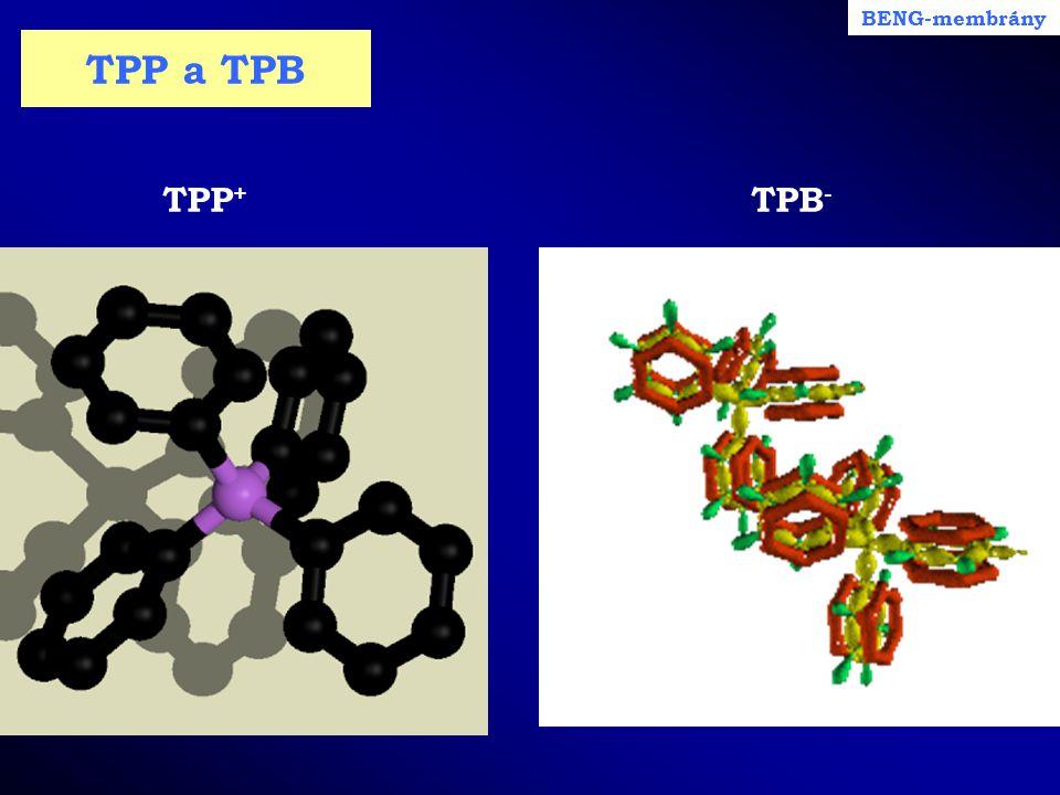 BENG-membrány TPP a TPB TPP+ TPB-