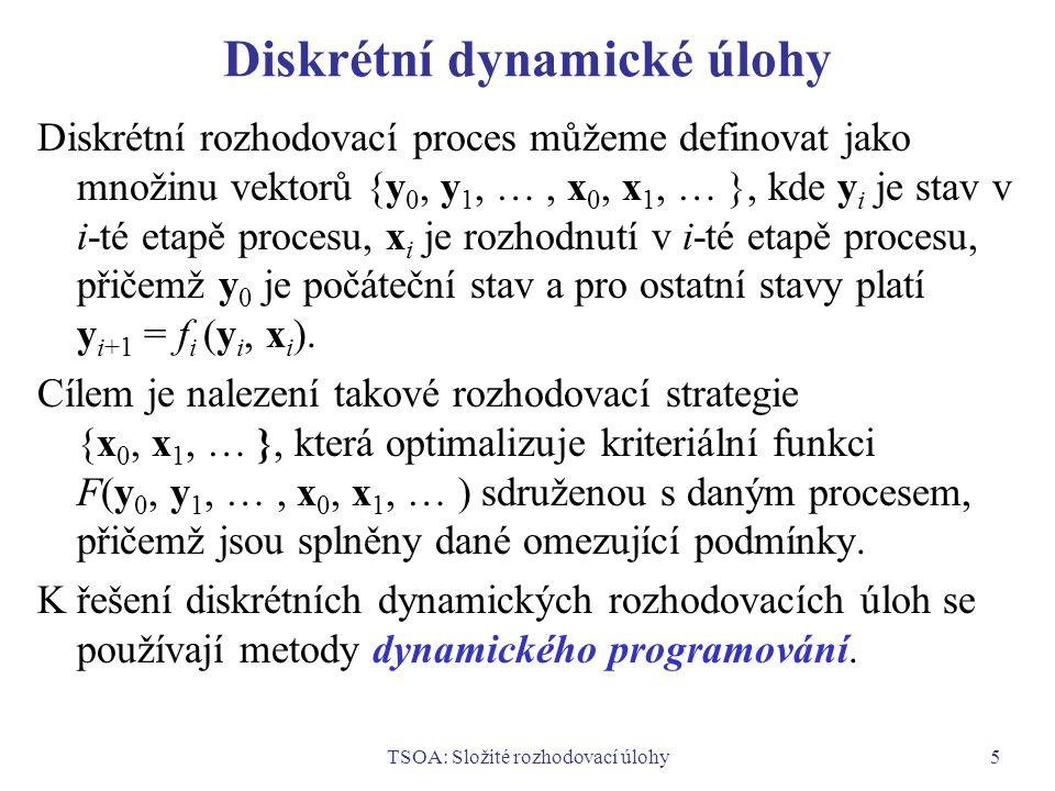 Diskrétní dynamické úlohy