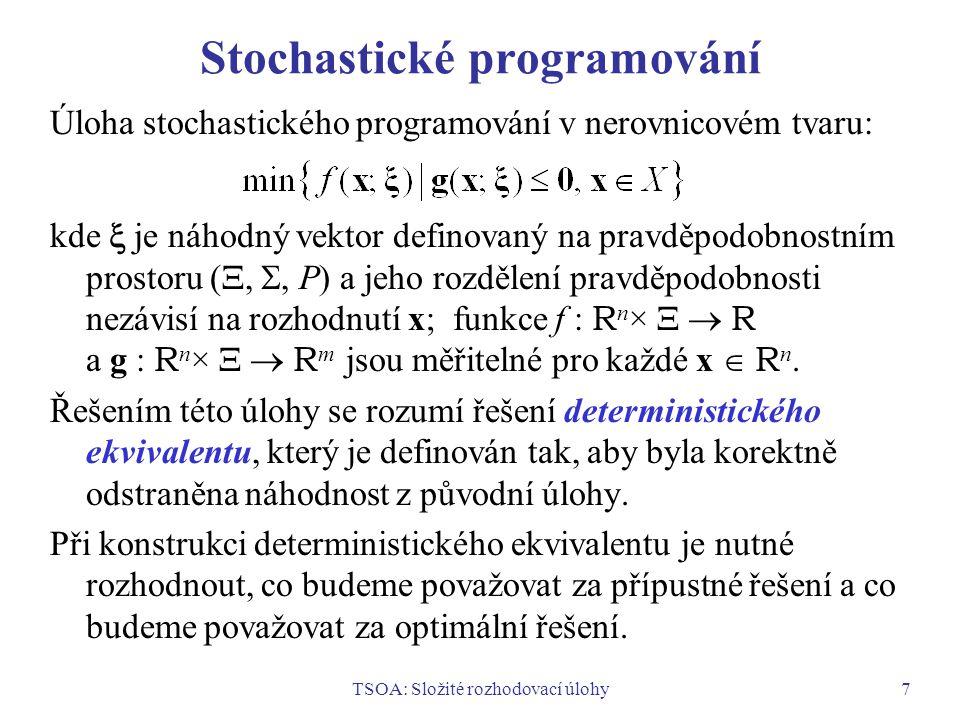 Stochastické programování