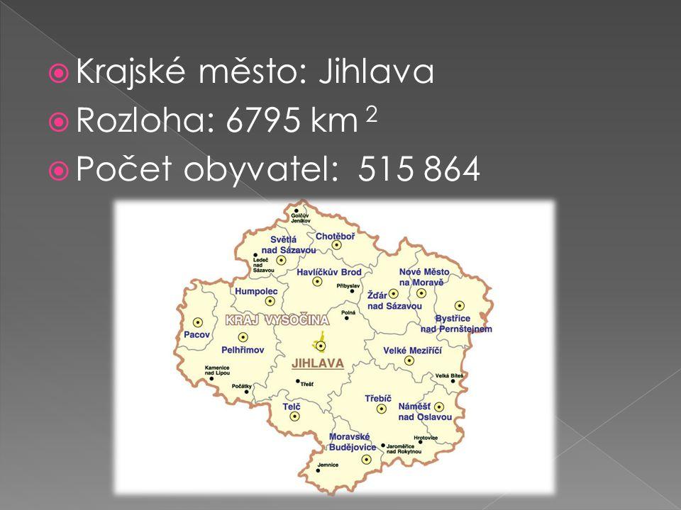 Krajské město: Jihlava