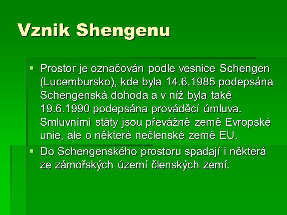 Vznik Shengenu