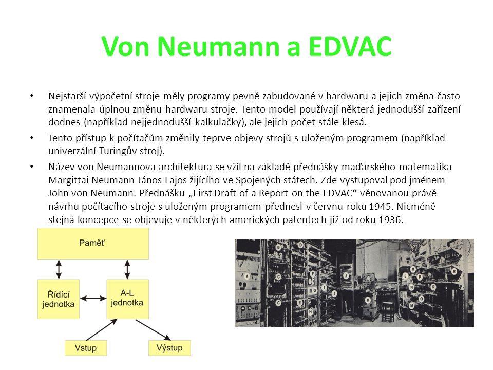 Von Neumann a EDVAC