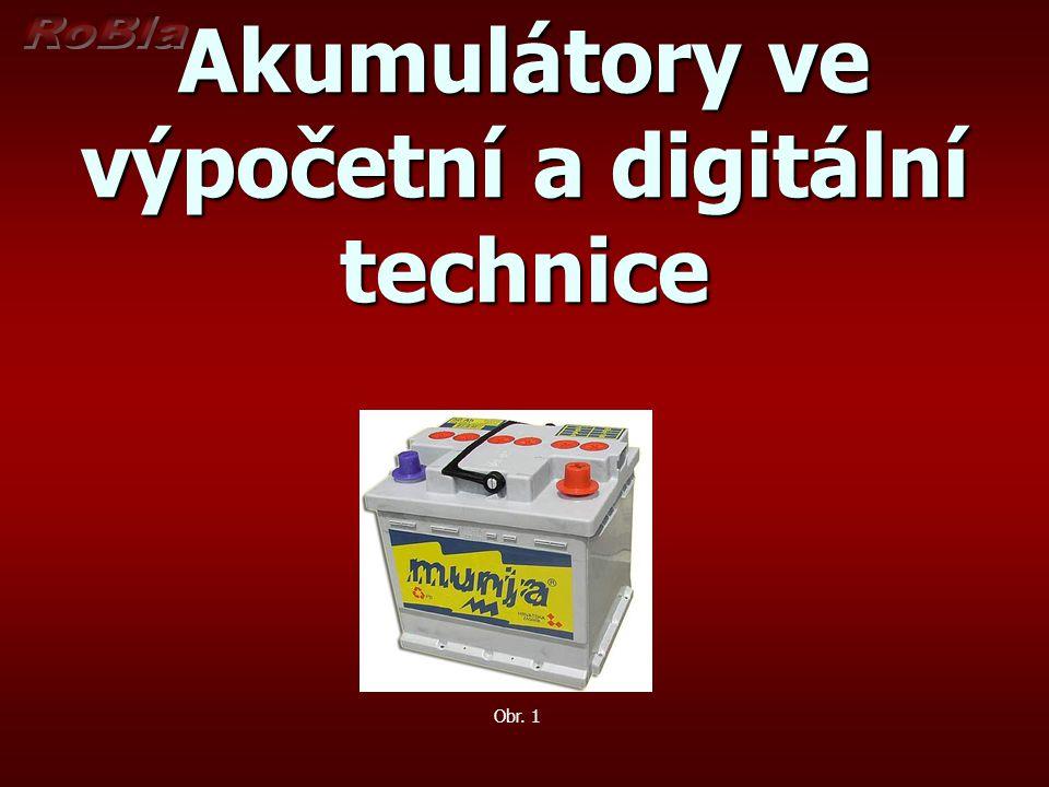 Akumulátory ve výpočetní a digitální technice