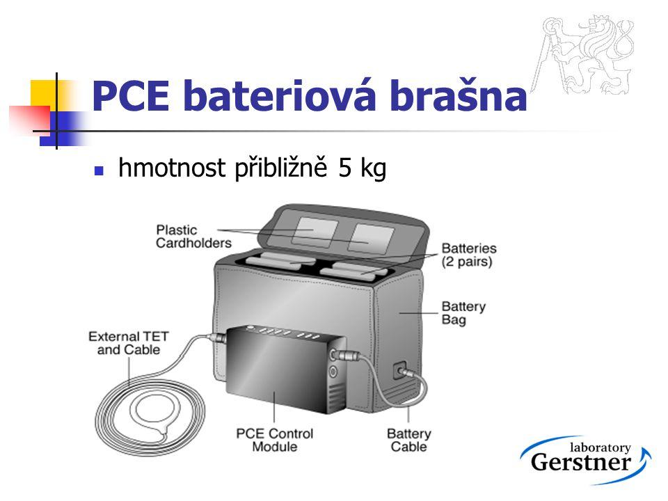 PCE bateriová brašna hmotnost přibližně 5 kg